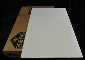 """Elmer's """"Single Step"""" Heat-Activated Adhesive Foam Board - White 32""""x 40"""" (25)"""