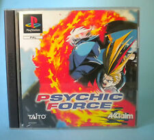 PSYCHIC FORCE PS1 PLAYSTATION PSX PS  PAL