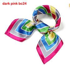 Scarves Variety stripe Square Silk Scarf Office Lady Gift Women bandana BC24