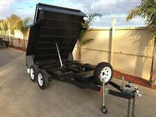 8x5 Tandem Hydraulic Tipper Trailer Rated @ 1990kg GVM