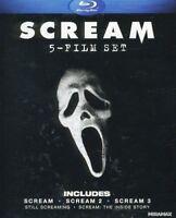 Scream 1-3 [New Blu-ray] Gift Set, Subtitled, Widescreen, Ac-3/Dolby Digital,