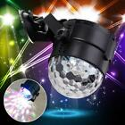 6W RGB LED luz de la etapa magia bola giratoria efecto Karaoke Party Club bar OP