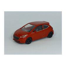 Norev 319000 Peugeot 208 rotbraun Facelift - Showroom Maßstab 1:64 NEU! °