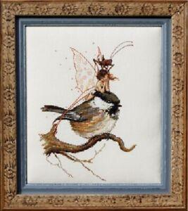 Nimue Counted Cross-stitch Pattern- NE68 -  Fee a la Mesange (The Tit's Fairy)