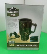 Outdoors by totes ~ Heated Auto Mug 16oz. Camouflage with 12V Car Adaptor