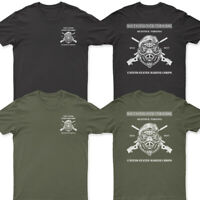NEW Scout Sniper Instructor Quantico US Marine Corps HOG T shirt