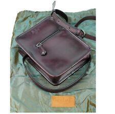 BERLUTI Journaliste leather Messenger bag