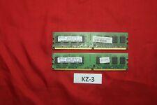 4 Go 2x 2 Go. SAMSUNG m378t5663qz3-cf7 ddr2 pc2-6400 800 MHz Dimm 240-pol PC RAM