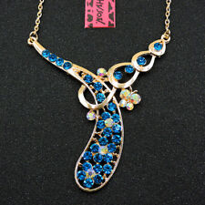 Betsey Johnson Women Flower Necklace Pendant Chain Gifts