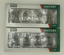 ORYON WW2 History 1:35 Hand-Painted Soldiers: Sets 2001 & 2002