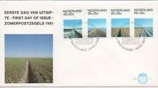 Briefmarken aus den Niederlanden & Kolonien mit Ersttagsbrief-Erhaltungszustand als Satz
