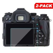 2x Tempered Glass Screen Protector for Pentax K-1 / K1 Mark II Digital Camera