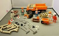 Playmobil Construction Lot Road Crew Pipes Cable tools