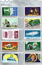 trade cards all systems go 1968 full set