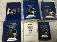 1999 FORD MUSTANG Service Shop Repair Workshop Manual Set W EWD & Facts Bk + OEM