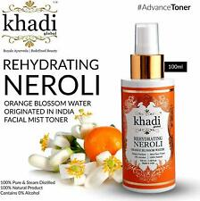 Khadi Global Rehydrating Neroli Orange Blossom Water Facial Mist Toner 100 ml