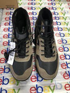 Hi-Tec Men's Crestone Smokey Brown Hiking Boot / Shoe Crestone 13 Mens