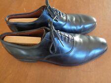 Allen Edmonds Carlyle 10.5 D Plain Toe Oxfords Dress Shoes Black