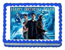 PERCY JACKSON AND THE SEA OF MONSTERS edible cake image party cake topper