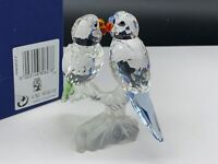 Swarovski Figurine 680627 Wellensittiche 8,3 Cm. Emballage & Certificat