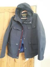 Barbour Navy Blue Waterproof Jacket Size L new with tags Rrp £229
