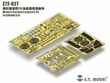 ET Model 1/72 #E72027 Modern German Leopard 2 A6 Detail Up Set for Dragon 7232