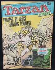 Tarzan Weekly UK Comic - Fierce Fighting Females (Grade 8.0) September 10, 1977