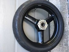 TRIUMPH FRONT WHEEL AND TYRE-  T595 T509 955I DAYTONA SPEED TRIPLE SPRINT