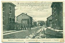AK piennes 1. guerre mondiale Lorraine Landwehr Badeanstalt 36. division d'infanterie
