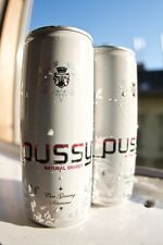 NEW PUSSY 100% Natural Energy Drink 2 Can Sample Pack FREE SHIPPING ANYWHERE!!!