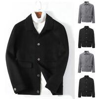 Fashion Men's Jacket Blazer Smart Sport Casual College Coat Outwear Overcoat UK