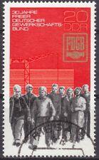 DDR Mi.-Nr. 2054 gestempelt 20 Pf. 30 Jahre Freier Deutscher Gewerkschaftsbund