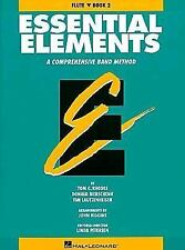 Essential  Elements Flute Book 2 Band Method Hal Leonard