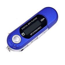 USB Digital Portable MP3 Music Player LCD Screen FM Radio Support 32GB TF Card