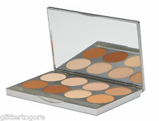Graftobian HD Pro Powder™ Foundation Palette, Warm Shades - 8 Pressed Powders