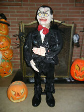 ANIMATED 3 FOOT CHUCKY the VENTRILOQUIST DOLL with MICRO-PHONE HALLOWEEN PROP