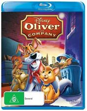 Oliver & Company (Blu-ray, 2013) Brand New and Factory Sealed AUS Release
