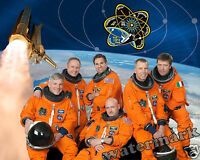 Photograph NASA Mission  STS-134 Astronaut Shuttle Crew Year 2010    8x10