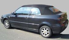 VW Golf 4 Cabrio Capote avec vitre tissu NOIR incl. instructions NEUF R