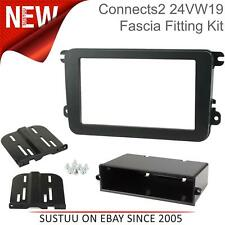CT24VW04 VW Passat B6 2005 on Car Stereo Double Din Fascia Complete Fitting Kit