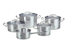 Fissler Topfset orig. profi collection 5tlg. Glasdeckel Induktion 084 136 05 000
