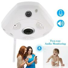 HD 1280x960 Wifi Wireless 360° Panoramic Fisheye IP Camera IR Night Vision