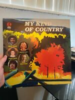 1978 K-Tel Records MY KIND OF COUNTRY vinyl album