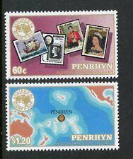 Penrhyn Islands   1984   Scott # 296-297    Mint Never Hinged Set