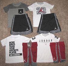 Air Jordan Set Boy's Size 6 Shirt Shorts Pick A Set