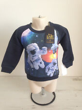 BOYS KNOT SO BAD HOODIE/JUMPER 2 YRS EUR 92 CM NEW AND TAGEED