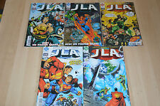 lot 5 Albums JLA n°5 6 9 10 et 11 - Justice League America / Semic DC Comics