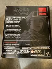 Star Wars Black Series 6 Inch Sergeant Jyn Erso Eadu Exclusive