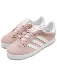 Adidas Gazelle C Little Kid's Shoes Ice Pink/White/Gold by9548 / Size US 12k & 2