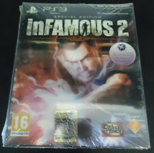 INFAMOUS 2 SPECIAL EDITION LIMITED VERSIONE UFFICIALE ITALIANA NUOVO PS3